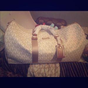 Mk duffel bag